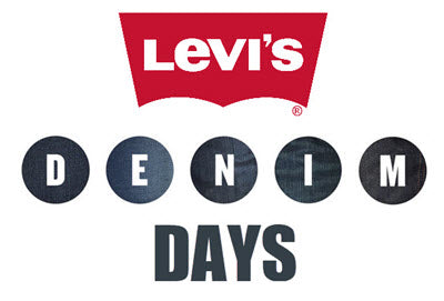 Levi's Denim Days jeans promo at Dave's New York