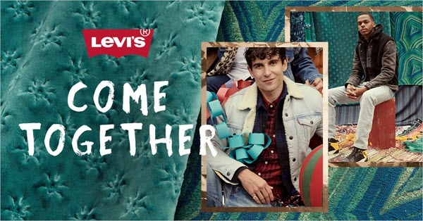 Levi's Men's Jeans promotion at Dave's New York