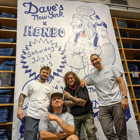 Dave's New York x Henbo Henning Collaboration Event