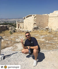 Dave's Traveling Tees - Athens, Greece
