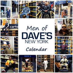 Men of Dave's New York Calendar