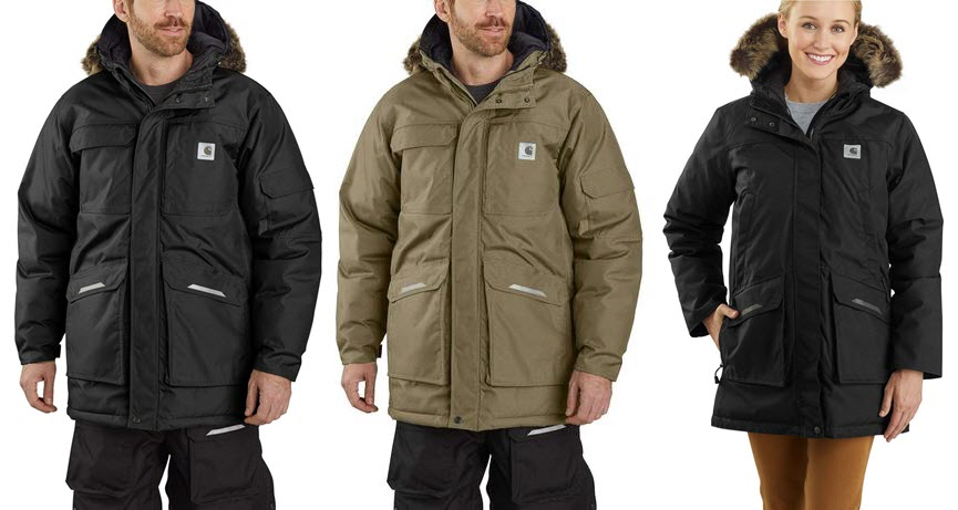 Carhartt Yukon Extremes Insulated Parka for Men & Women at Dave's New York