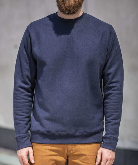 Dave's New York Midweight Crew Neck Sweatshirt - Navy