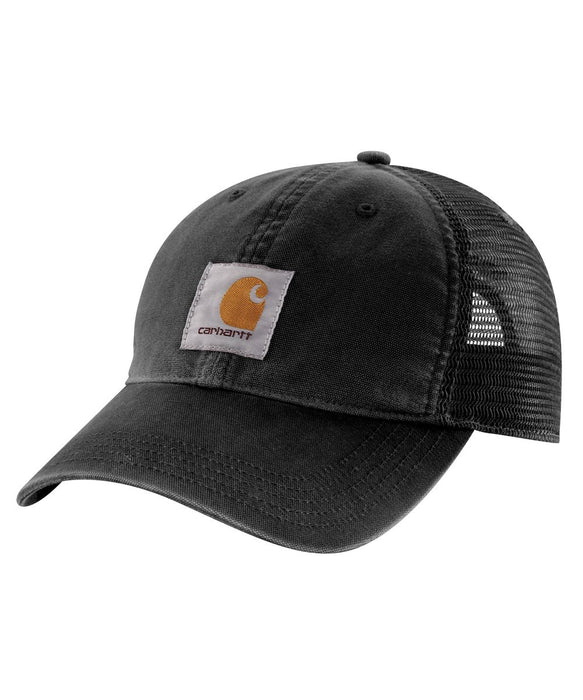 Carhartt Buffalo Cap in Black at Dave's New York