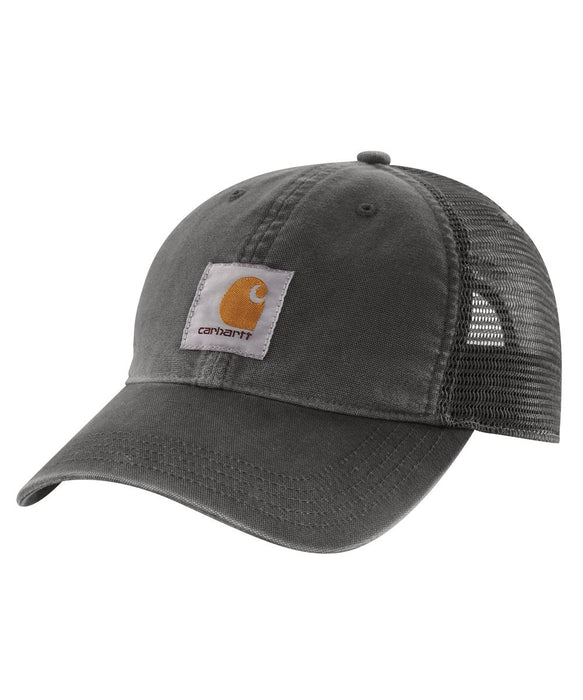 Carhartt 100286 Buffalo Cap in Gravel at Dave's New York