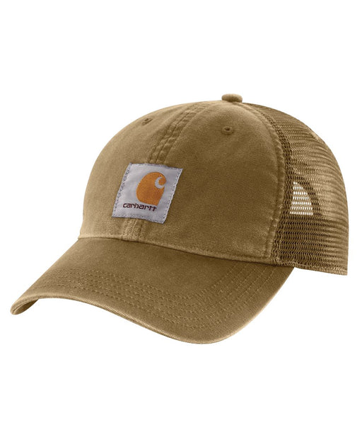 Carhartt Buffalo Cap in Dark Khaki at Dave's New York