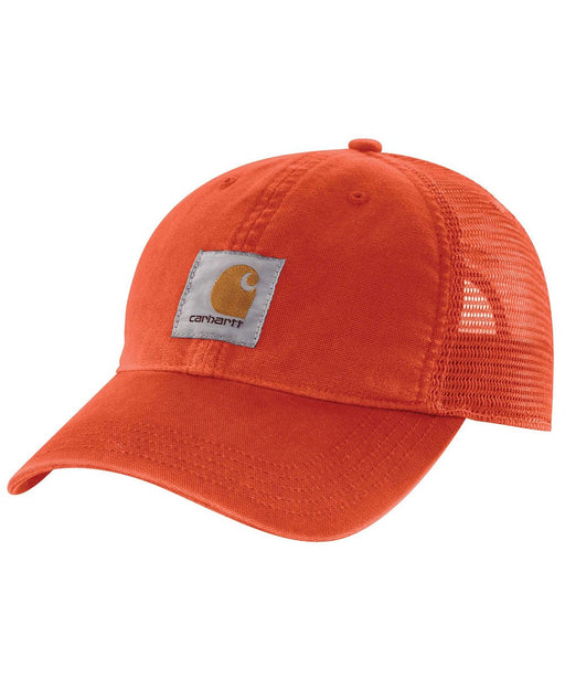 Carhartt Buffalo Cap in Harvest Orange at Dave's New York