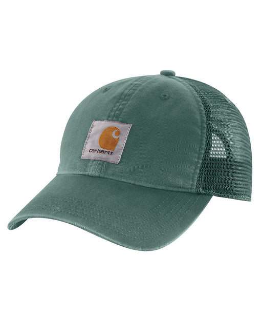 Carhartt Buffalo Cap in Musk Green at Dave's New York