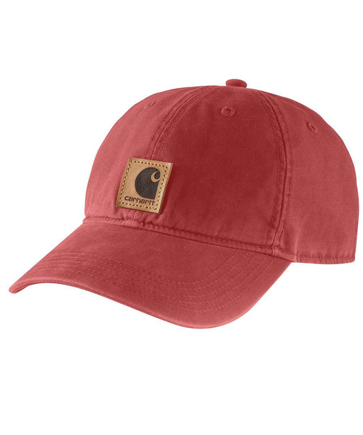 Carhartt 100289 Odessa Cap in Dark Barn Red at Dave's New York