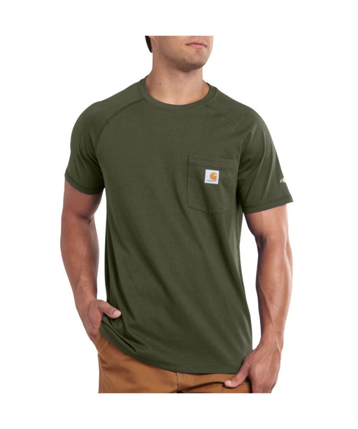 Carhartt 100410 Force Cotton SS T-Shirt – Moss