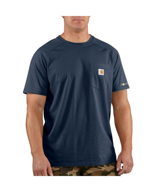 Carhartt 100410 Force Cotton SS T-Shirt – Navy