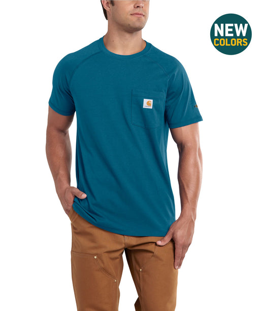 Carhartt 100410 Force Cotton SS T-Shirt – Bay Harbor