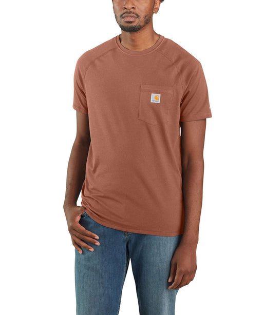 Carhartt Force™ Cotton Short Sleeve T-Shirt - Bronze at Dave's New York