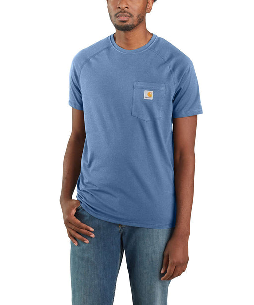 Carhartt Force™ Cotton Short Sleeve T-Shirt - Coastal at Dave's New York