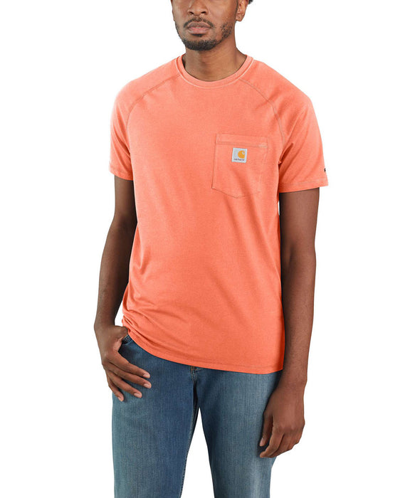 Carhartt Force™ Cotton Short Sleeve T-Shirt - Pumpkin at Dave's New York