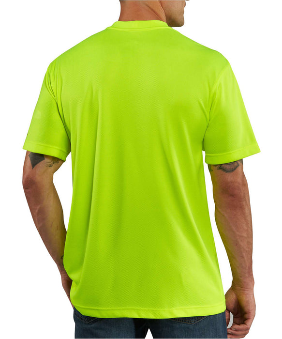 Carhartt Force Color Enhanced Short-Sleeve T-Shirt (100493) in Bright Lime at Dave's New York