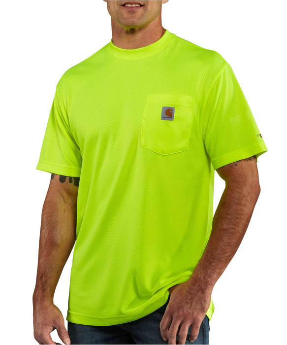 Carhartt Force Color Enhanced Short-Sleeve T-Shirt - 100493 - Bright Lime
