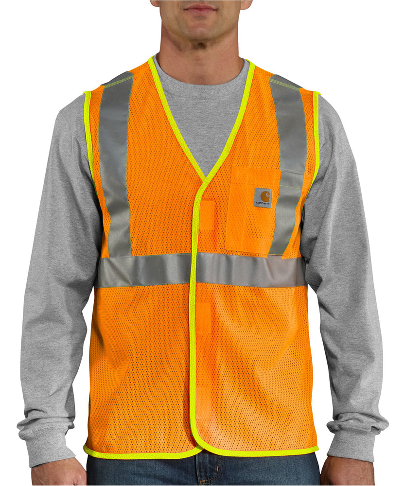 Carhartt 100501 High-Visibility Vest - Bright Orange