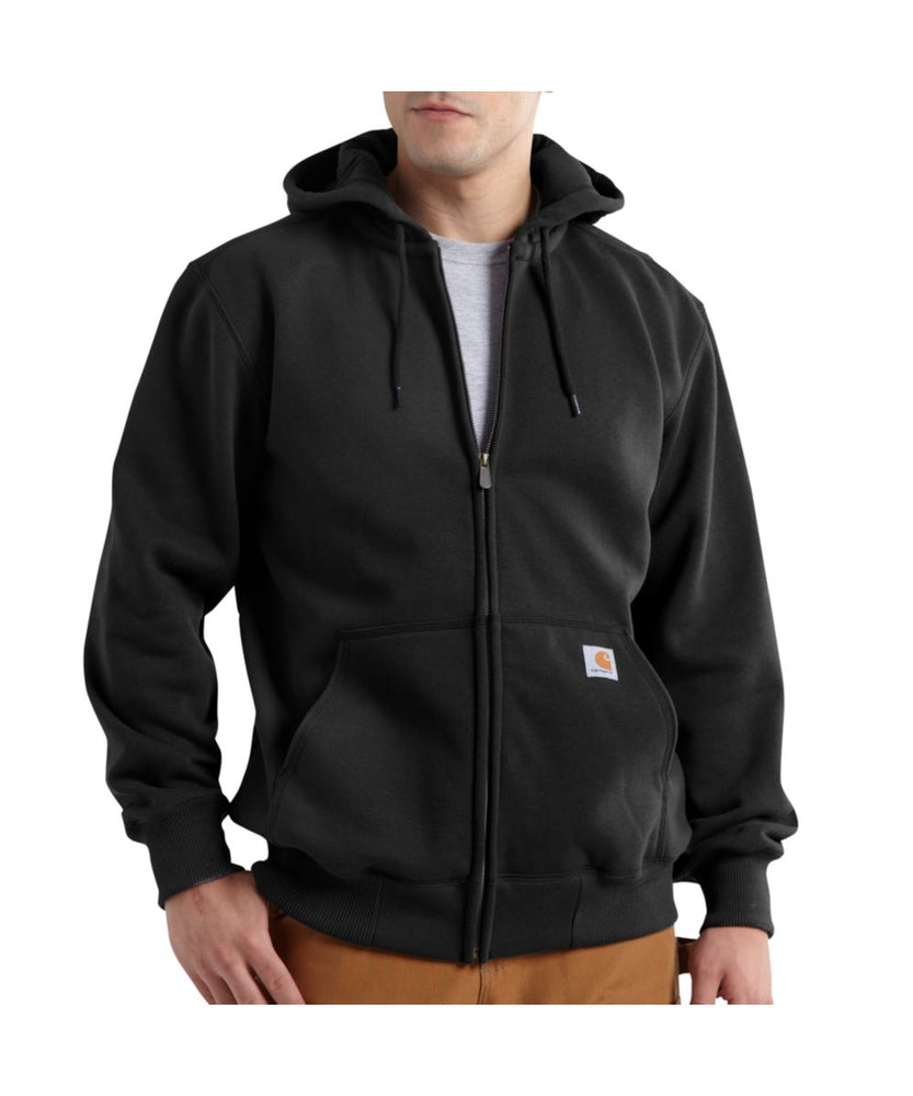Carhartt 100614 Paxton Heavyweight Zipper Hooded Sweatshirt – Black
