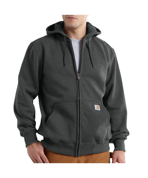 Carhartt 100614 Paxton Heavyweight Zipper Hooded Sweatshirt in- Carbon Heather at Dave's New York