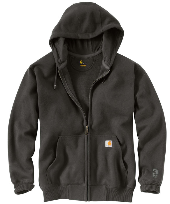 Carhartt 100614 Paxton Heavyweight Zipper Hooded Sweatshirt in Peat at Dave's New York