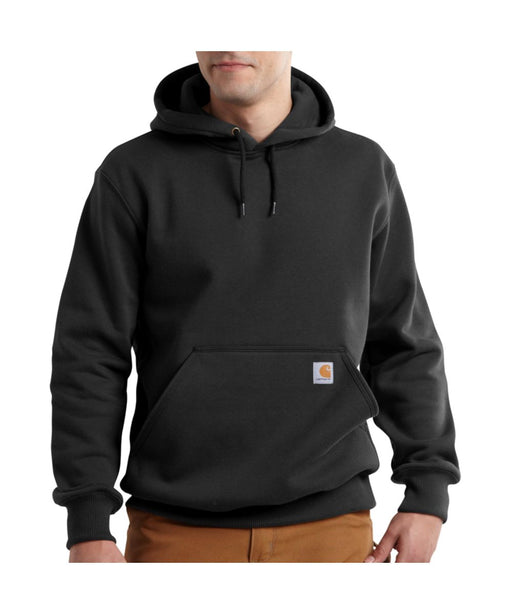 Carhartt Paxton Heavyweight Hooded Sweatshirt in Black at Dave's New York