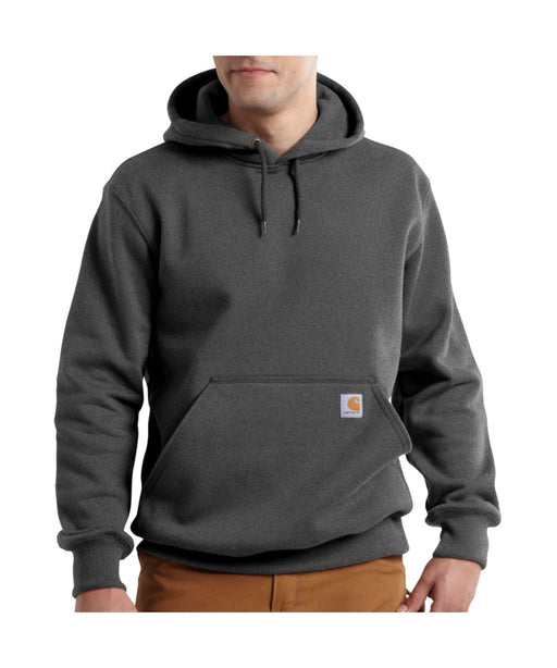 Carhartt Paxton Heavyweight Hooded Sweatshirt in Carbon Heather at Dave's New York