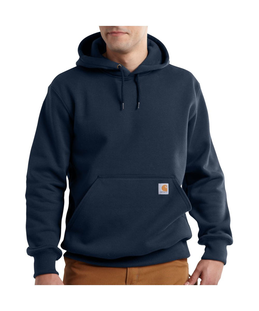 Carhartt Paxton Heavyweight Hooded Sweatshirt in New Navy at Dave's New York