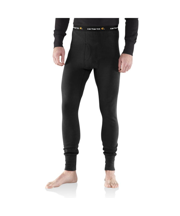 Carhartt Base Force™ Cotton Super-Cold Weather Thermal Bottom - Black