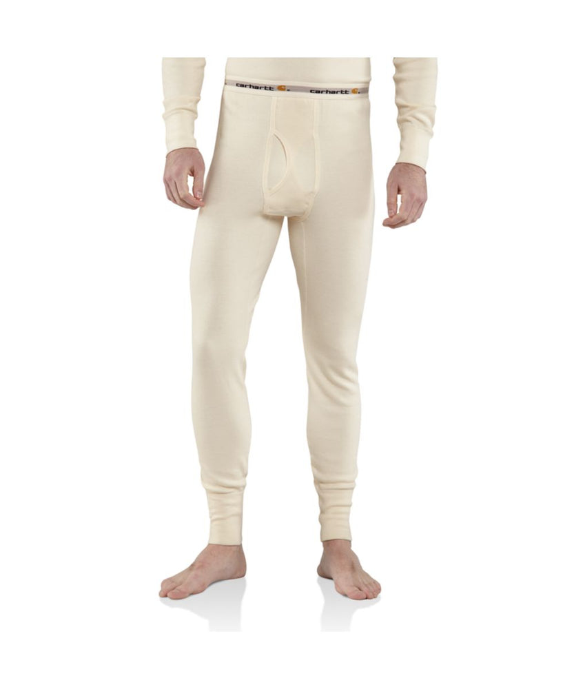Carhartt Base Force™ Cotton Super-Cold Weather Thermal Bottom - Natural
