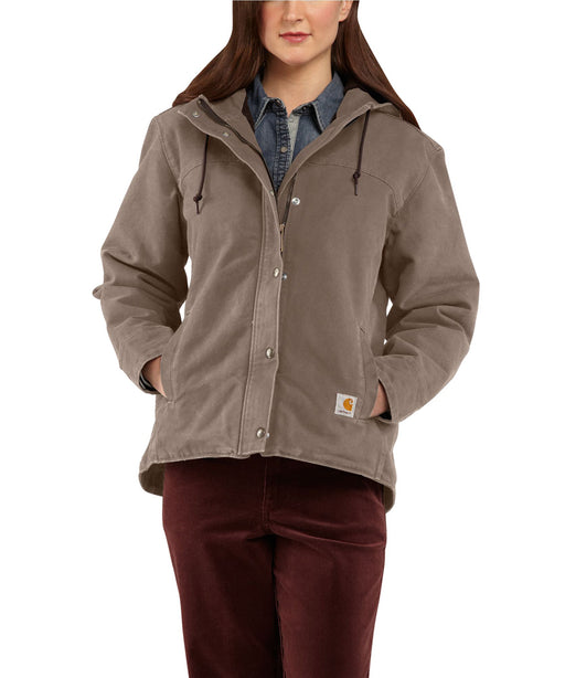 Carhartt Women's Sandstone Berkley Jacket (100657) – Taupe Grey