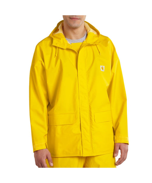 Carhartt Mayne PVC Waterproof Rain Coat in Yellow at Dave's New York