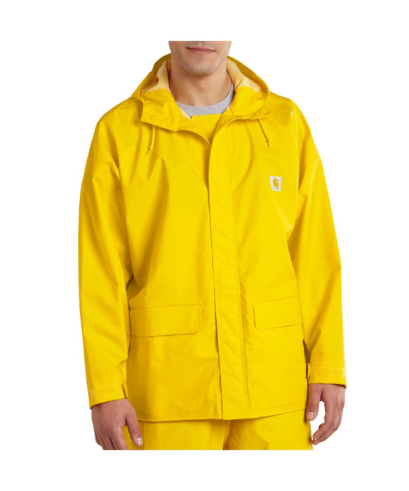Carhartt 101076 Mayne PVC Waterproof Rain Coat – Yellow