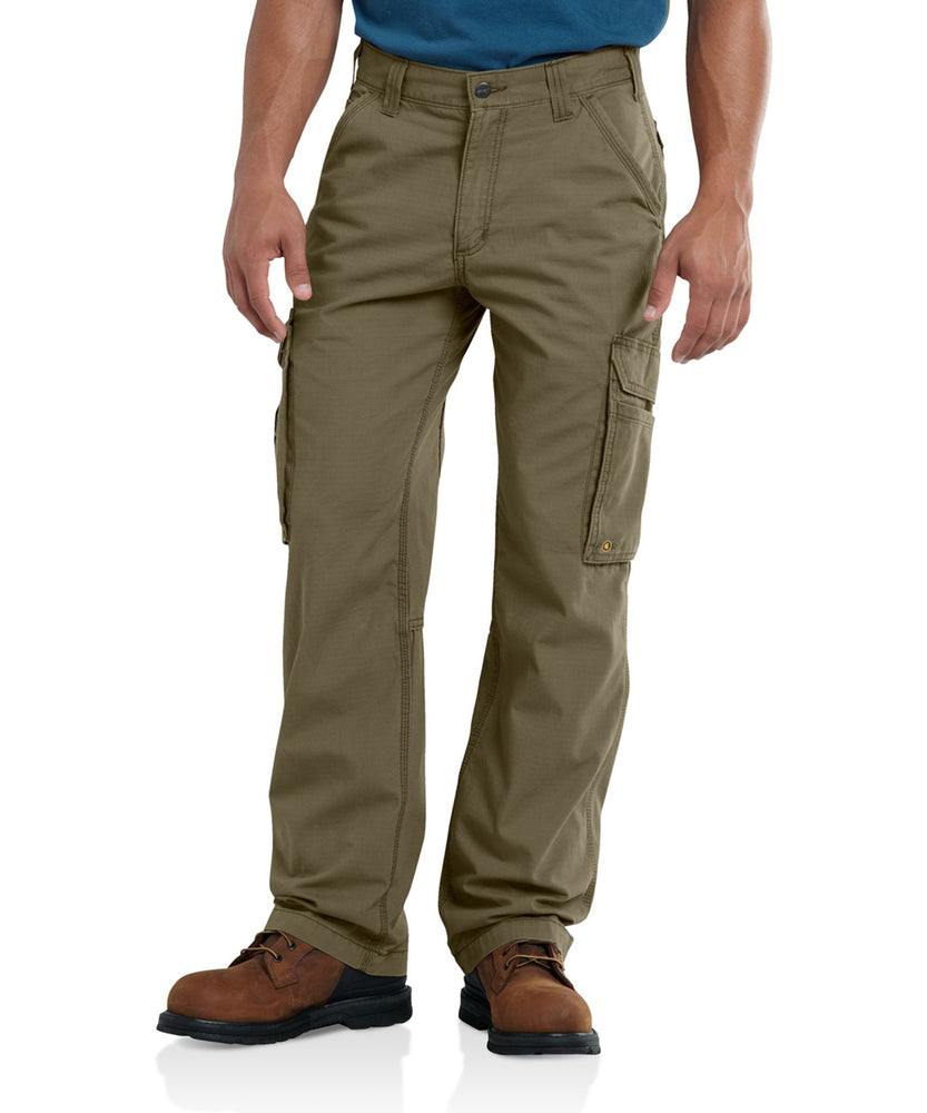 Carhartt Force Tappen Cargo Pants in Burnt Olive at Dave's New York