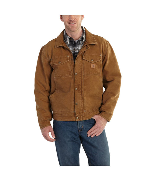 e1548a6662 Carhartt Men's Berwick Jacket – 101230 – Carhartt Brown