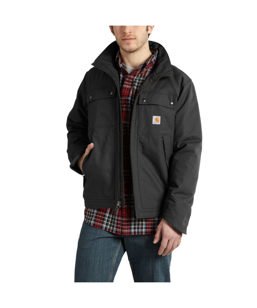 Carhartt Quick Duck® Jefferson Traditional Jacket - Black
