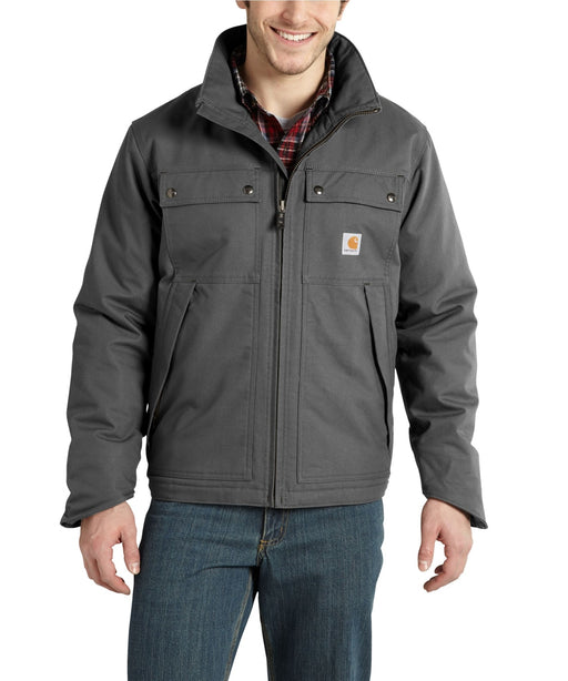 Carhartt Quick Duck® Jefferson Traditional Jacket in Charcoal at Dave's New York