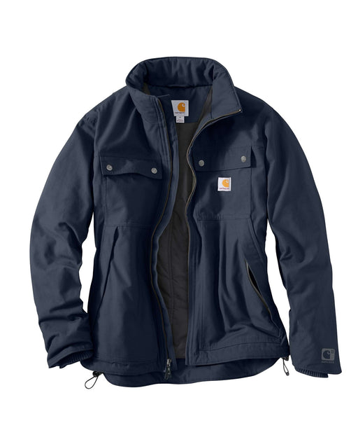 Carhartt Quick Duck® Jefferson Traditional Jacket - Navy
