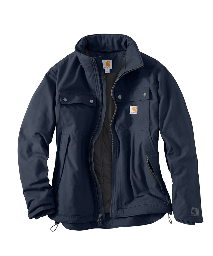 Carhartt Quick Duck® Jefferson Traditional Jacket - model 101492 – Navy