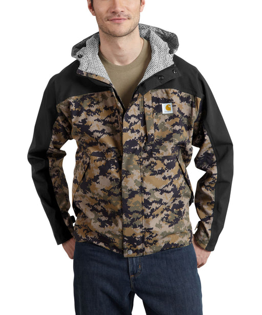 Carhartt Men's Shoreline Vapor Jacket - Black/Khaki Digi Camo