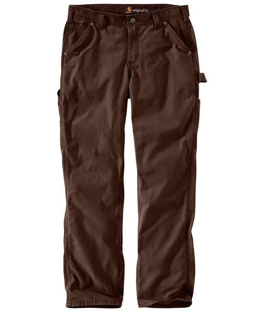 Carhartt Women's Original Fit Crawford Pant - model 102080 - Dark Brown