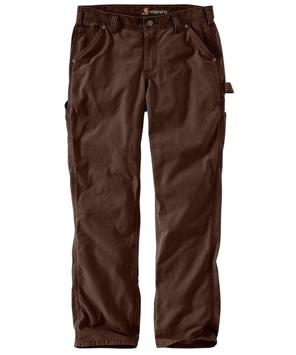 Carhartt Women's Original Fit Crawford Pants in Dark Brown at Dave's New York