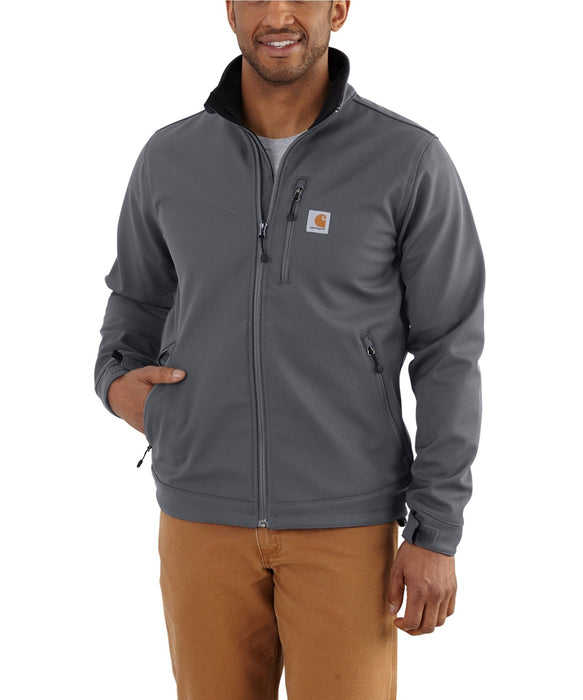 Carhartt Crowley Softshell Jacket (102199) in Charcoal at Dave's New York