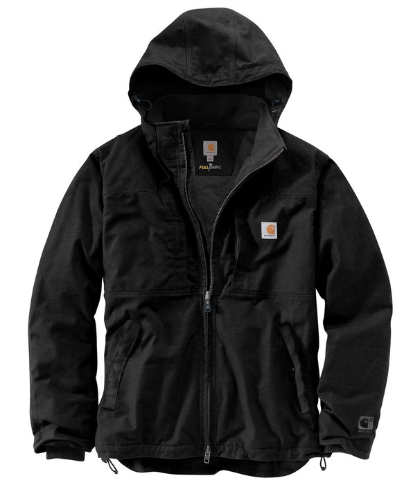 Carhartt Full Swing Cryder Jacket (102207) in Black at Dave's New York