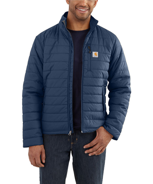 Carhartt Gilliam Lightweight Insulated Jacket (102208) in Dark Blue at Dave's New York