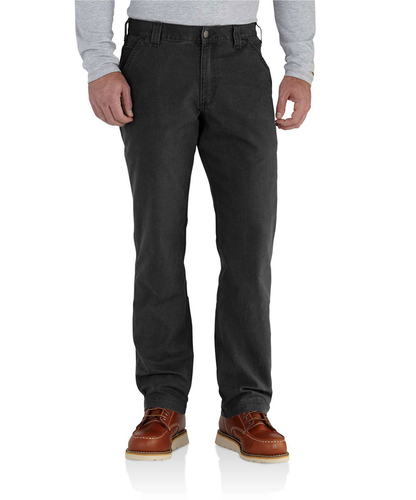 Carhartt Rugged Flex Rigby Dungaree in Black at Dave's New York