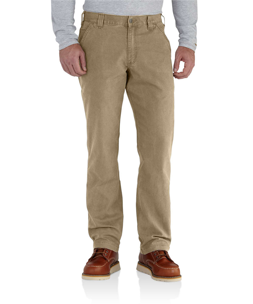 Carhartt Rugged Flex Rigby Dungaree in Dark Khaki at Dave's New York
