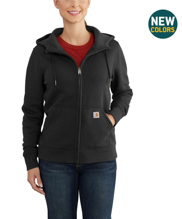 Carhartt Women's Clarksburg Full-Zip Hoodie Sweatshirt in Black at Dave's New York