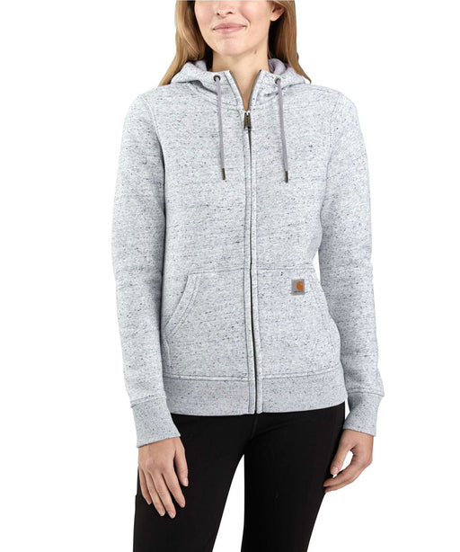 Carhartt Women's Clarksburg Full-Zip Hoodie - Asphalt Heather at Dave's New York