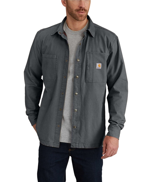 Carhartt Men's Rugged Flex Rigby Shirt Jacket – 102851 - Shadow at Dave's New York